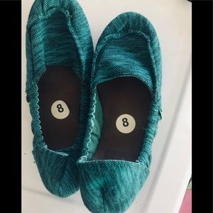 Sanuk Ladies Bendable Slip On Shoes